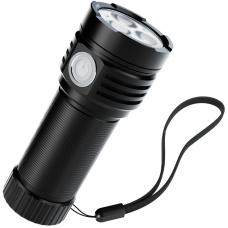 Ficklampa ABSINA Bull Worker 3.3 LED Flashlight IPX4 USB 3300 Lumen 4033R