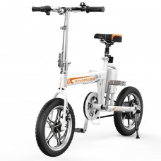 Airwheel R5 Eldriven Cykel Vit
