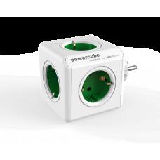 Grenpropp Allocacoc PowerCube 5-vägs Grön