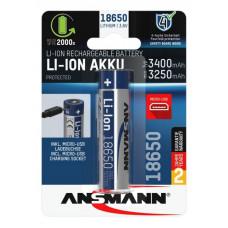 Laddningsbart batteri 18650 micro-USB 3,6V 3400mAh Ansmann 1307-0003