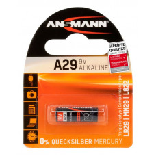 Batteri Alkaliskt A29 (LR29) 9V Ansmann