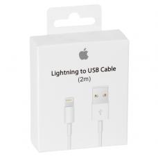 USB-kabel USB-A till Lightning Apple MD819ZM/A 2m White