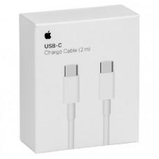 USB-kabel USB-C till USB-C Apple MLL82ZM/A 2m White
