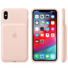 Apple Smart Battery Case iPhone XS Max Pink Sand