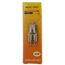 Ugnslampa G9 40W 300° RIC.EL CU4427