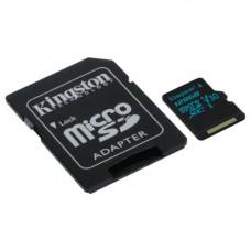 128GB microSDHC 90R/45W U3 UHS-I Card + SD-adapter