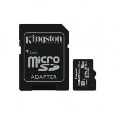 16GB micSDHC C Select+ 100R A1 C10 Card + Adpt.