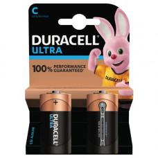 Batteri Alkaliskt C (LR14) 1,5V Duracell Ultra  2-pack