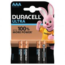 Batteri Alkaliskt AAA (LR03) 1,5V Duracell Ultra 4-pack