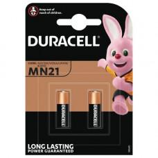 Batteri Alkaliskt A23 (8LR932) 12V Duracell 2-pack