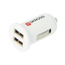 USB-Billaddare SKross 2.900610-E Dual 3,4A White