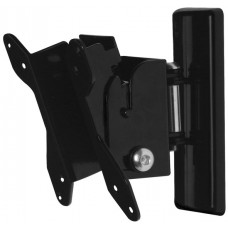 B-Tech Flat Screen Wall Mount With Tilt & Swivel Black BT7518