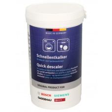Avkalkningsmedel 250g Tvättmaskin/Diskmaskin Bosch 00311919