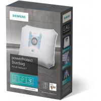 Dammsugarpåsar Siemens Original Type G ALL VZ41FGALL 17003049 4-pack