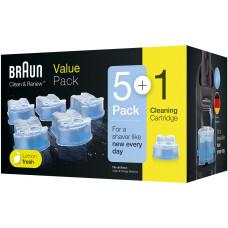 Rengöringspatron Braun Clean & Renew CCR5+1 81662201 6-pack