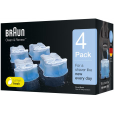 Rengöringspatron Braun Clean & Renew CCR4 81666454 4-pack