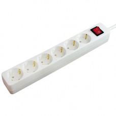 Grenuttag 6-vägs med switch Jordad 1,4m Brennenstuhl 1550620416