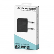 Champion Adapter 3.5mm Hona - 2x3.5mm Hane