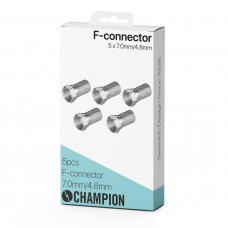 Champion F-Kontakt 7.0mm/4.8mm 5-pack