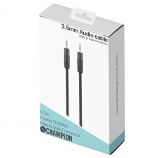Champion AUX 3.5mm Svart 5m