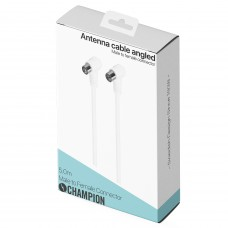 Champion Antennkabel Vinklad 5m