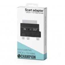 Champion SCART 3RCA