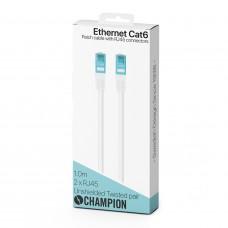 Champion Nätverkskabel CAT6 UTP 1m