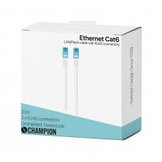 Champion Nätverkskabel CAT6 UTP 20m