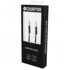 Champion AUX 3.5mm Svart 2m