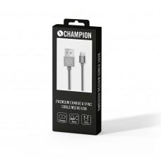 Champion Premium Micro-USB Space Grey 1m