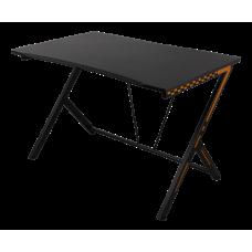 Gamingbord Deltaco Svart/Orange