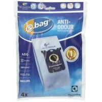 Dammsugarpåsar S-Bag Electrolux E203 Anti-Odour 4-pack