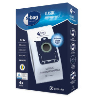 Dammsugarpåsar S-Bag Electrolux Original E201S Classic Long Performance 9001684589 4-pack