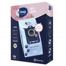 Dammsugarpåsar S-Bag Electrolux Original E203S Anti-Odour 9001684597 4-pack