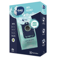 Dammsugarpåsar S-Bag Electrolux Original E206S Anti-Allergy 9001684605 4-pack