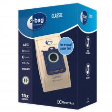 Dammsugarpåsar S-Bag Electrolux Original E200SM Classic 9001688002 15-pack