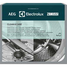 Rengöringsmedel Disk/Tvättmaskin 6-pack Electrolux M3GCP400 9029799187