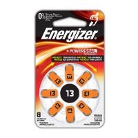 Hörapparatsbatteri Zinc Air 13 (PR48) 1,4V Energizer 8-pack