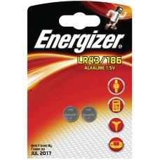 Batteri Knappcell Alkaline LR43 (LR1142) 1,5V Energizer 2-pack