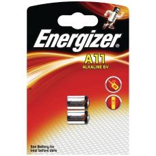 Batteri Special Alkaline A11 (LR11) 6V Energizer 2-pack