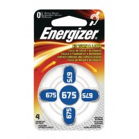 Hörapparatsbatteri Zinc Air 675 (PR44) 1,4V Energizer 4-pack