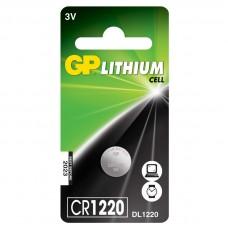 Batteri Knappcell Lithium CR1220 3V GP