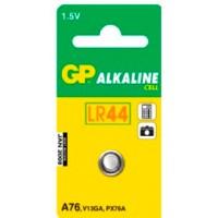 Batteri Alkaliskt LR44 (LR1154) 1,5V GP