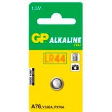 Batteri Knappcell Alkaline LR44 (LR1154) 1,5V GP
