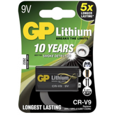 GP Lithium CR-V9 9V (1604LC)