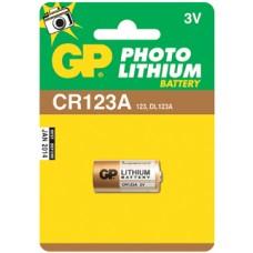 GP Lithium CR123A 3V (CR17345)