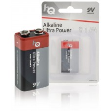 Batteri Alkaliskt E (6LR61) 9V HQ