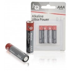 Batteri Alkaliskt AAA (LR03) 1,5V HQ 4-pack