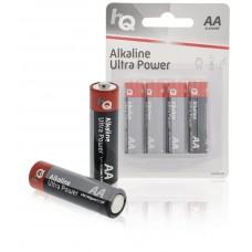 Batteri Alkaliskt AA (LR06) 1,5V HQ 4-pack
