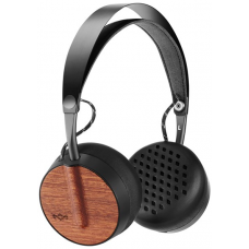 Hörlurar On-Ear Wireless Marley Buffalo Soldier BT Signature Black
